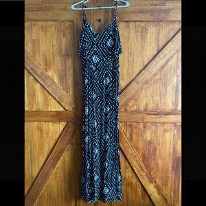 Women's maxi dress.